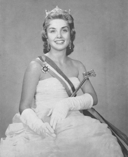Miss America Marian McKnight